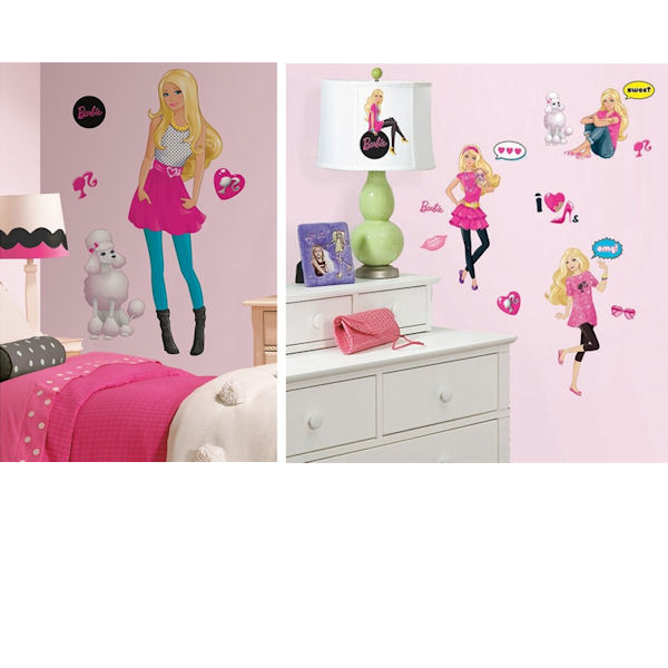 Barbie Decal Room Package #2
