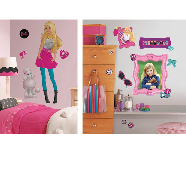 Barbie decal room package 4 for Barbie wall mural