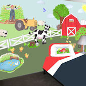 Create a Mural Large Barnyard Wall Sticker Kit