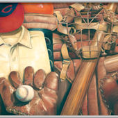 Baseball Memories Minute Mural