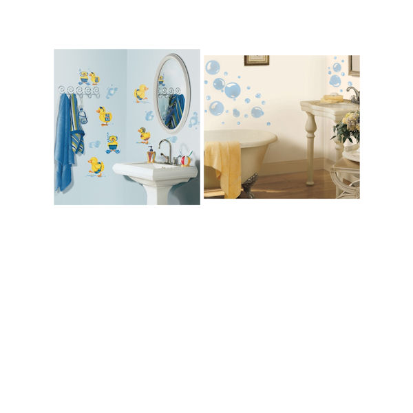 Bathroom Theme Decal Room Package #1 - Wall Sticker Outlet