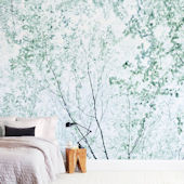 Minted Batik Forest Repositionable Wall Mural