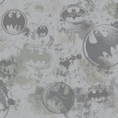 Batman LogoWhite Wallpaper