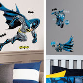 Batman Bold  Decal Room Package #3