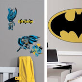Batman Bold  Decal Room Package #2