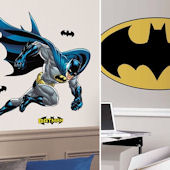 Batman Bold  Decal Room Package #1
