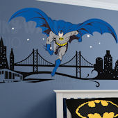 Batman Cityscape Giant Wall Decals