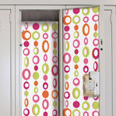Beaded Curtain Locker Wall Decals
