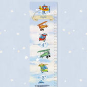 Flying High Growth Chart Canvas or Vinyl