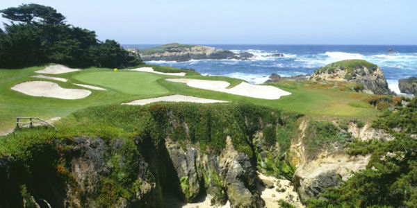 Cypress Point Golf Course Hole 15 Wall Mural