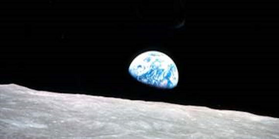 Planet earth wall mural three sizes available for Earthrise mural