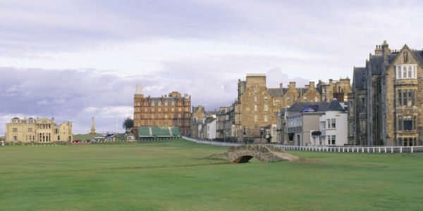 St Andrews Golf Course Hole 18 Wall Mural