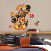 Skylanders Swap Force Blast Zone Giant  Wall Decal