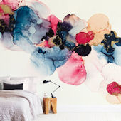 Minted Bloom Mixer Repositionable Wall Mural