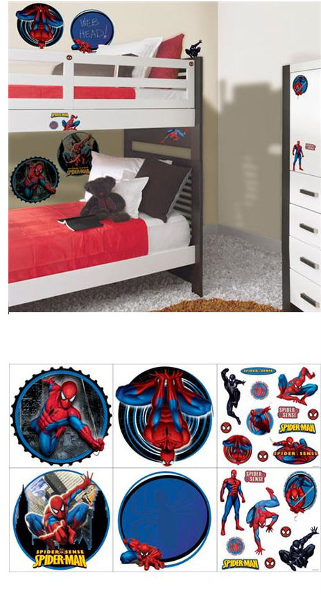 Spider Man Deco Kit Wall Decals SALE - Wall Sticker Outlet
