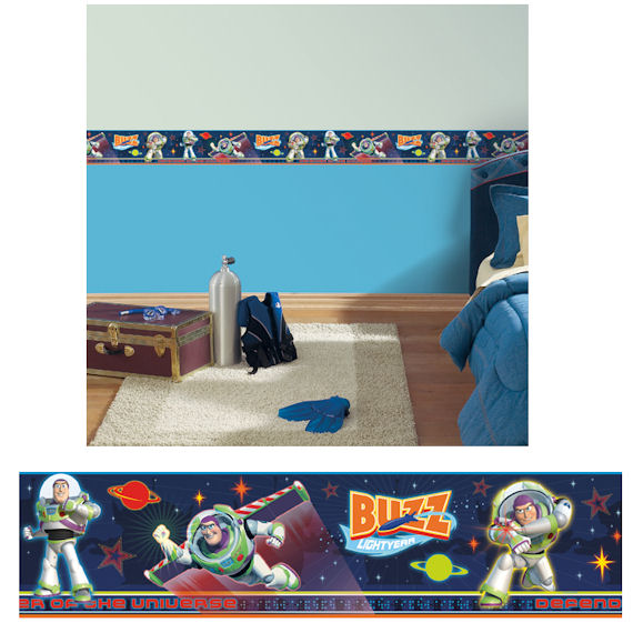 Toy Story Buzz Chromadepth Self Stick Border SALE - Wall Sticker Outlet