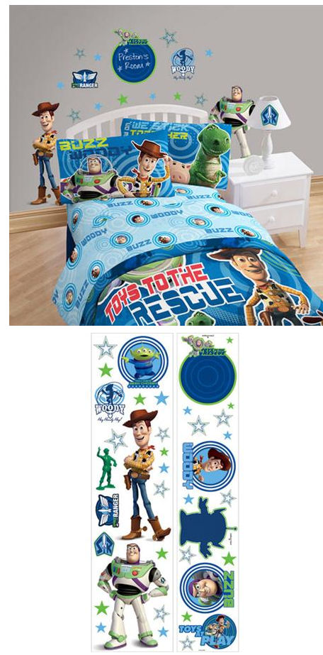 Toy Story Instant Decor Sticker Kit - Wall Sticker Outlet
