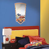 Disney Cars Large  Peel and Stick  Mirror