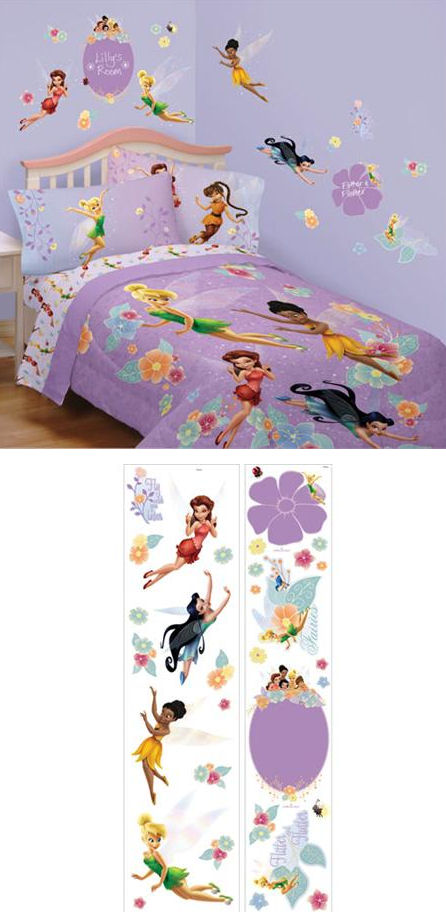 Fairies Instant Decor Sticker Kit - Wall Sticker Outlet