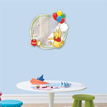 Disney Winnie The Pooh Peel and Stick Mirror - Wall Sticker Outlet