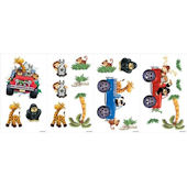 Snap Kids Jeep Safari Wall Stickers