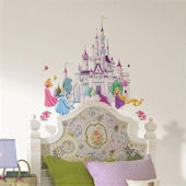 Disney Princess Self Stick Castle Decals