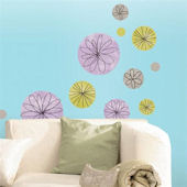 Circular Self Stick Home Wall Art SALE