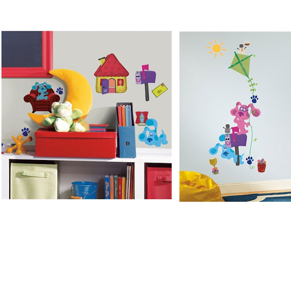 Blues clues decal room package wall sticker outlet