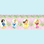 Disney Princess Magic Garden Wall Border