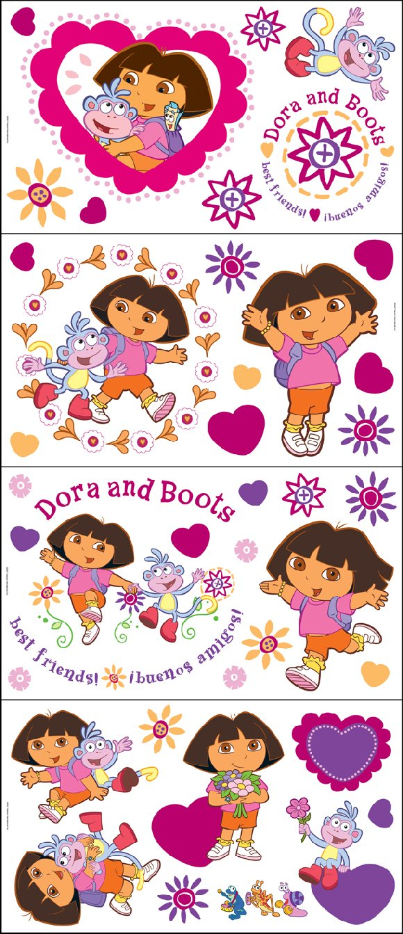 Dora The Explorer Appliques Sale
