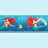 Little Mermaid Ariel 5-Inch Self-Stick Wall Border