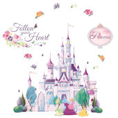 Princess Castle Disney Mini Mural