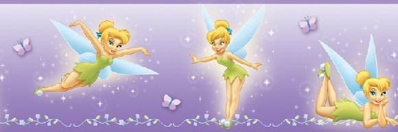 Tinker Bell Prepasted Wall Border - Wall Sticker Outlet