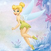 Tinker Bell Self Stick Mini Mural