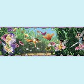 New Fairies Movie Tinker Bell 5-inch Wall Border