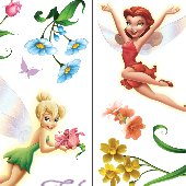 New Fairies Movie Tinker Bell Room Appliques