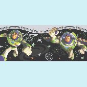 Toy Story Buzz Lightyear  Wall Border SALE