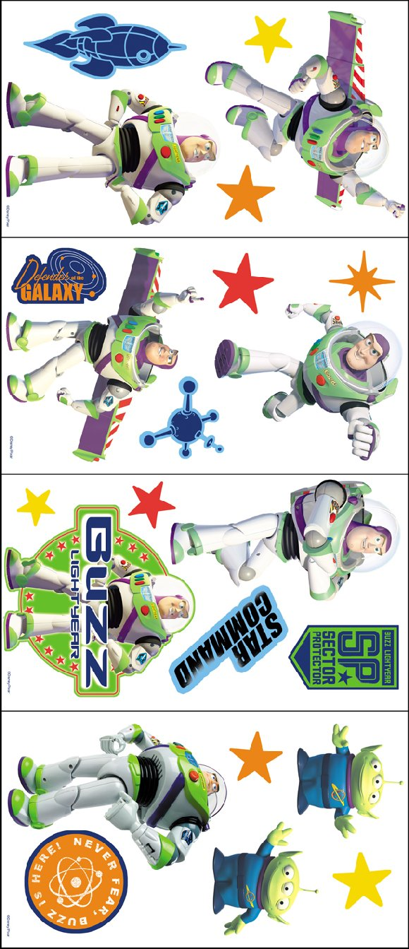 toy story buzz lightyear room appliques buzz lightyear