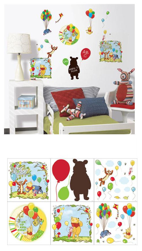 Winnie the Pooh Bother Free Day Deco Kit SALE - Wall Sticker Outlet