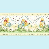 Winnie the Pooh Honey Wall Border