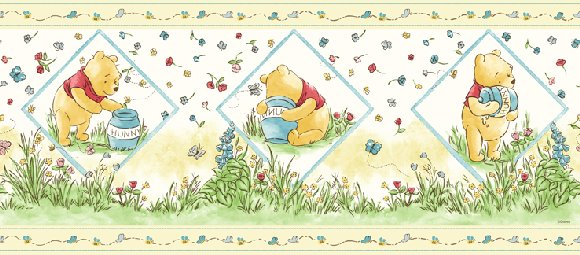 Winnie the Pooh Honey Wall Border SALE  - Wall Sticker Outlet