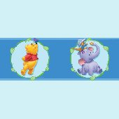 Winnie the Pooh Cameo 5-inch Wall Border SALE