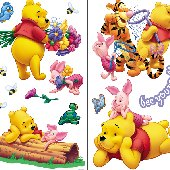 Winnie the Pooh Scenic Room Appliques