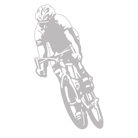 Bicycler  - Sudden Shadows Wall Decals - Wall Sticker Outlet