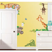 In The Jungle Wall Sticker Kit