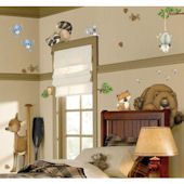 In The Woods Wall Sticker Kit