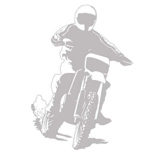 Motocross Sudden Shadows Wall Decals - Wall Sticker Outlet