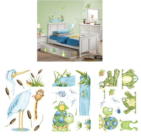 On The Pond Wall Sticker Kit - Wall Sticker Outlet