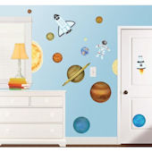 Outer Space Wall Sticker Kit