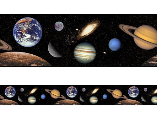 Space Themed Wallpaper Border borders outer space ss border jpg